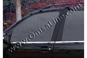 Нижние молдинги стекол (нерж.) 4 шт. (ML/W164 SUV )